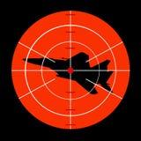 Ataque do avião Fotografia de Stock