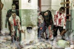 Ataque do zombi Imagem de Stock