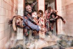 Ataque do zombi Fotos de Stock