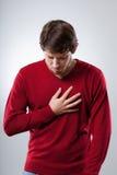 Ataque dos pulmões Fotografia de Stock Royalty Free