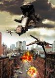 Ataque estrangeiro Foto de Stock