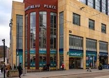 Ataque frontal Birmingham de Poundland fotos de archivo libres de regalías