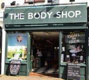 Ataque frontal de Body Shop imágenes de archivo libres de regalías