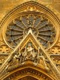 Ataque frontal de la basílica parisiense de Sainte Clotilde imágenes de archivo libres de regalías