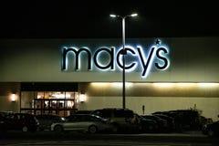 Ataque frontal Eatontown de la tienda de Macys fotografía de archivo