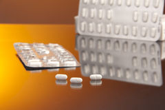 Atarax antidepressant pills Royalty Free Stock Image