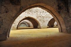 Atarazanas Reales in Sevilla, Andalusien, Spanien Stockfotos