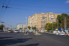 Atarbekova街道 krasnodar 库存照片