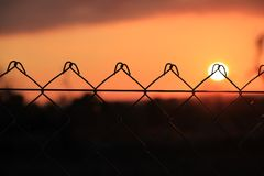 Atardecer Stock Images