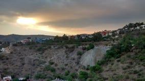 Atardecer en Guanajuato & x28;Sunset in Guanajuato& x29; Royalty Free Stock Photo