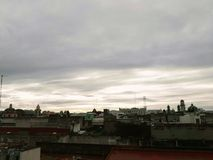 Atardecer en Puebla. Visit Puebla Mexico, fabulous Royalty Free Stock Image