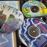 Atari Jaguar cd gry obraz royalty free