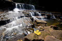 Atas Pelangi waterfall Stock Images