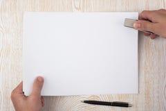 Atascamiento de papel Imagen de archivo libre de regalías