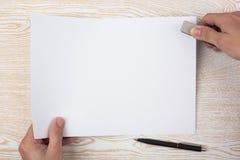 Atascamiento de papel Imagenes de archivo