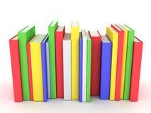 Atascamientos y literatura de libros stock de ilustración
