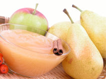 Atasco con sabor a fruta Imágenes de archivo libres de regalías
