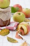Atasco de la manzana del otoño foto de archivo