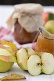 Atasco de la manzana del otoño Fotos de archivo