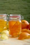 Atasco de los agrios con la cáscara de la naranja y de limón Foto de archivo