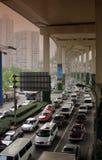 Atasco de Shangai Imágenes de archivo libres de regalías