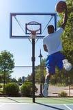 Atasco del monstruo del baloncesto Fotos de archivo libres de regalías