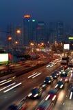Atasco en Hong-Kong Foto de archivo libre de regalías