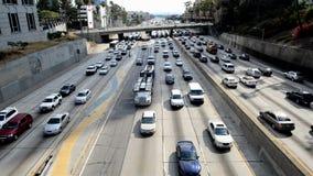 Atasco en Los Ángeles céntrico metrajes