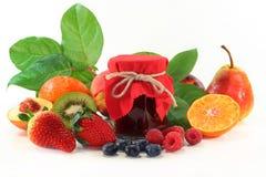 Atasco mezclado de la fruta imagen de archivo libre de regalías