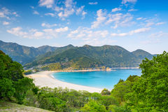 Atashika Beach in Japan Royalty Free Stock Photos