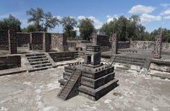 atatelco pre aztec świątyni Zdjęcie Stock