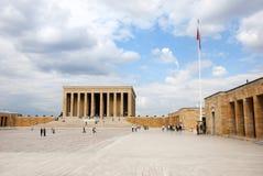 ataturk陵墓tkabir 图库摄影