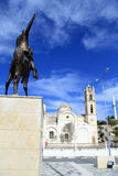 Ataturk και εκκλησία Στοκ Φωτογραφίες