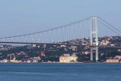Ландшафт с мостом Ataturk Стоковые Изображения