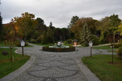 Ataturk Arboretumu Costantinopoli fotografia stock libera da diritti