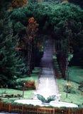 Ataturk Arboretumu Istanboel, Turkije royalty-vrije stock foto