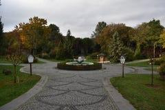 Ataturk Arboretumu istanbul royaltyfri fotografi