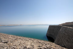 Ataturk dam in turkey Royalty Free Stock Photo