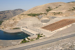 Ataturk dam in turkey Stock Photography