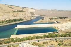 Ataturk Dam in Turkey Royalty Free Stock Photography