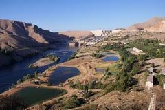Ataturk Dam in Turkey Royalty Free Stock Photos