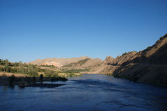 Ataturk Dam in Turkey Royalty Free Stock Images