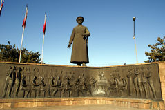 Ataturk in Erzurum Royalty Free Stock Photo
