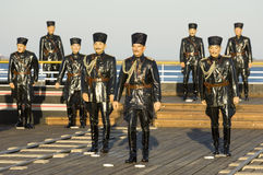 Ataturk and his friends sculpture. Samsun-Turkey Stock Photos