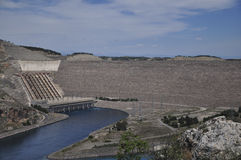 Ataturk hydroelectric power. Plant on the Euphrates River Stock Photos