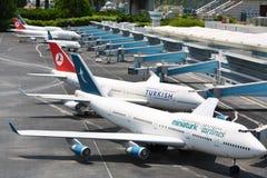 Ataturk International Airport Stock Photo