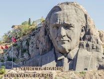 Ataturk lättnad Fotografering för Bildbyråer