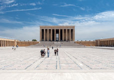 Ataturk Mausoleum Ankara Royalty Free Stock Photo