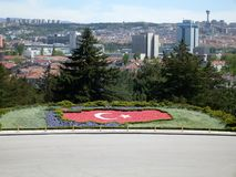 Ataturk Mausoleum Park in Ankara Royalty Free Stock Image