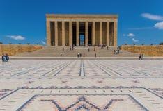 Ataturk mauzoleum w Ankara, Turcja fotografia stock